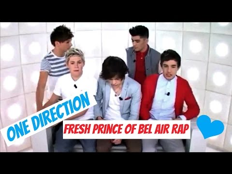One Direction-Fresh Prince of Bel-air Rap --p2eYrJA8ag