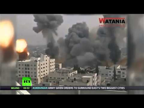Gaza: Israeli bombs kill 100 innocent Palestinians, and more than 20 children