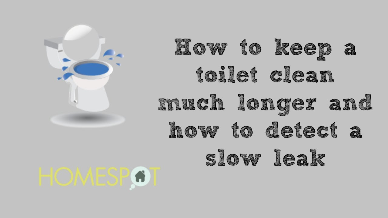 Toilet maintenance how to keep a toilet clean much longer for How to keep a toilet clean