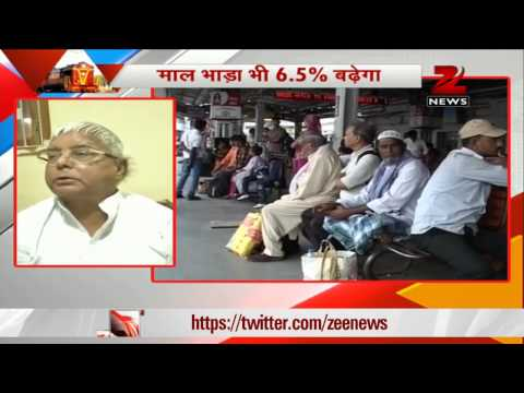 Lalu slams Modi government for rail fare salvo on common man