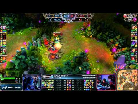 LoL IEM Cologne Fnatic vs CJE [Game 3]