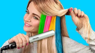 9 Cool Hairstyles to Make Under a Minute / Hair Hacks