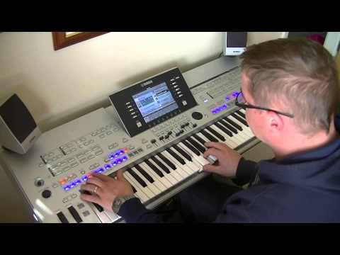 Elvis - Love me Tender - Yamaha Tyros 4 - HD - Cover