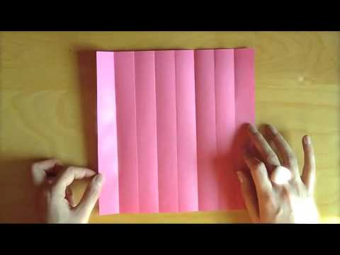 How to make paper flowers for your scrapbook beautiful flowers video how to make origami rose mightylinksfo