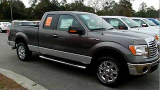 2012 FORD F-150 REVIEW XLT SUPERCAB * $98 OVER INVOICE @ RAVENEL FORD * CHARLESTON videos