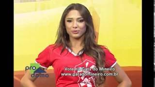Conhe�a a representante do Villa Nova no Gata do Mineiro