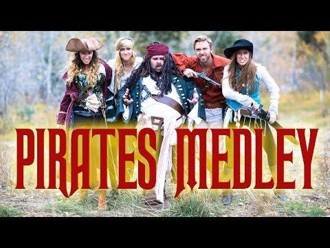Pirates Medley - Peter Hollens & Gardiner Sisters (Devinsupertramp)