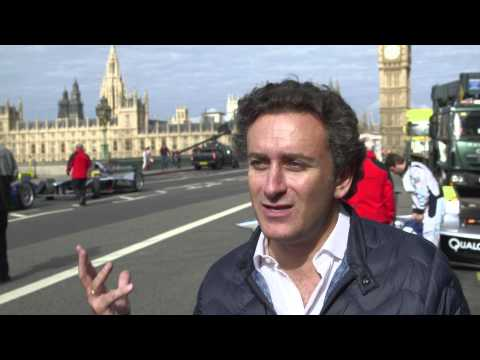 FIA Formula E - launch - Westminster bridge
