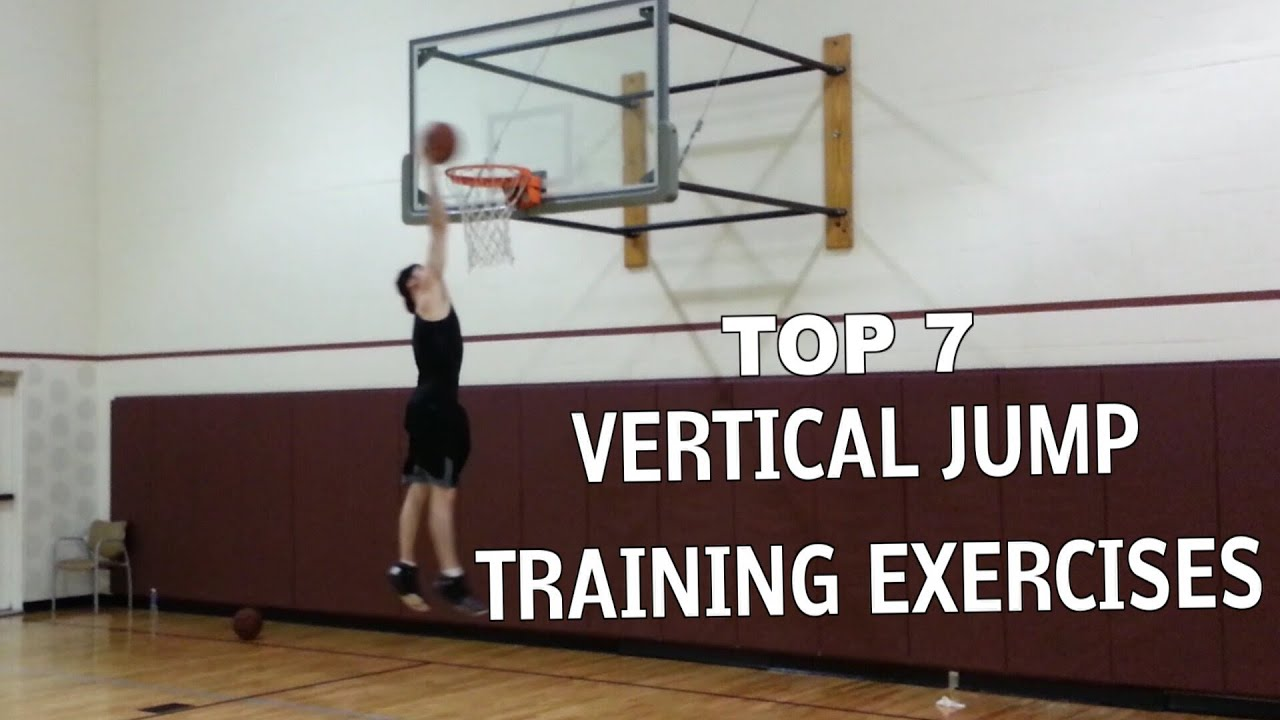 Top 7 Vertical Jump Training Exercises - YouTube