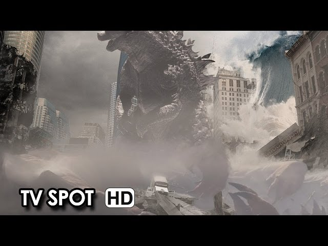 ゴジラ 特報 GODZILLA - Official International TV Spot (2014)