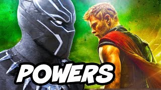 Black Panther Powers Explained vs Iron Man and Thor - Trailer Analysis