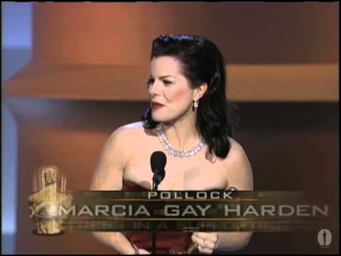 Marcia Gay Harden winning Best Supporting Actress
