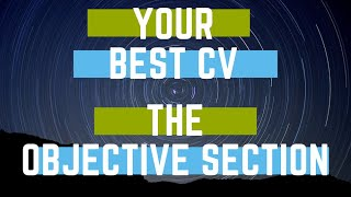 personal objectives examples