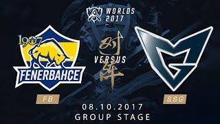 [08.10.2017] FB vs SSG [Group Stage][CKTG2017][Bảng C]