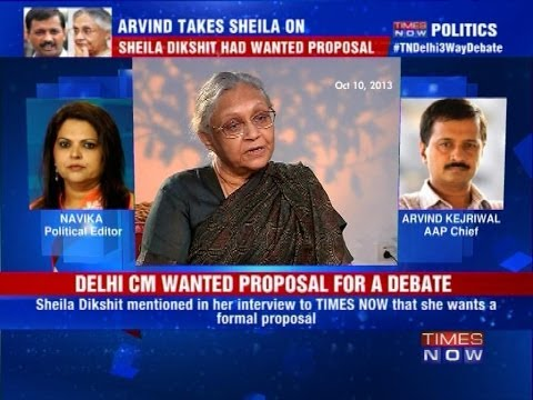 Arvind Kejriwal sends proposal to Delhi CM Sheila Dikshit