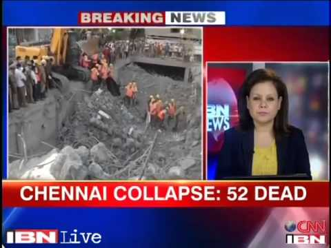 Chennai building collapse  Death toll rises to 55, Jaya orders one man probe panel