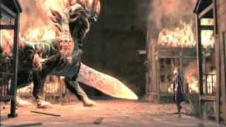 KRATOS VS DANTE (GOD OF WAR VS DEVIL MAY CRY) @Infamous
