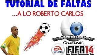 Fifa 2014. Tiro libre al estilo Roberto Carlos
