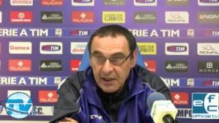 Empoli, Sarri: 'Non sentiamoci già salvi'