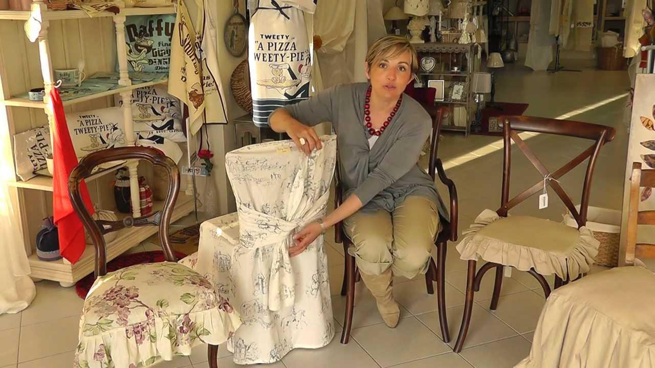 Come ricoprire le tue sedie i consigli di nadia a veli for Sedie vestite