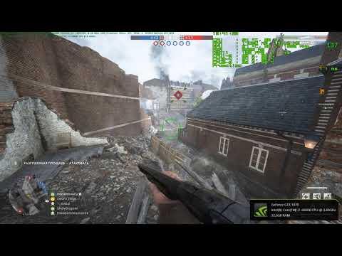 Battlefield 1 ULTRA, on FAKE i5-8400 (i7-6800K@3.8GHz HT\OFF) 6\6 treads