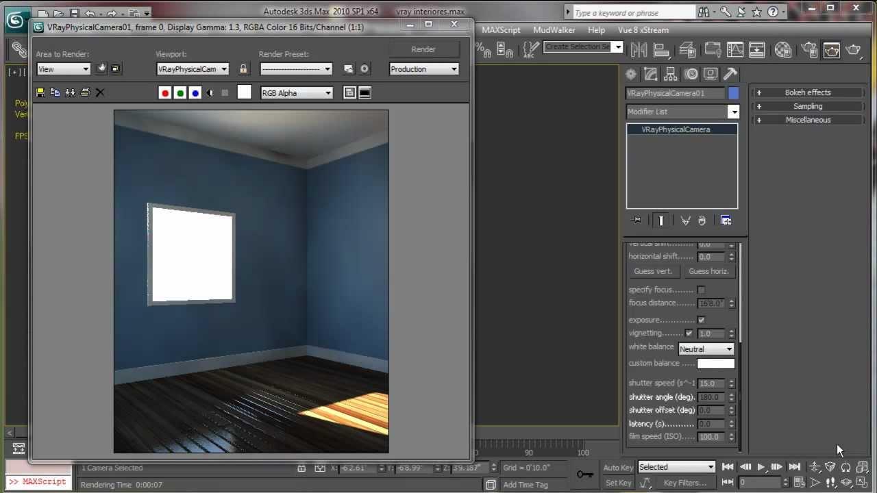 Iluminaci n de interiores vray tutorial 2 2 youtube - Iluminacion de interiores ...