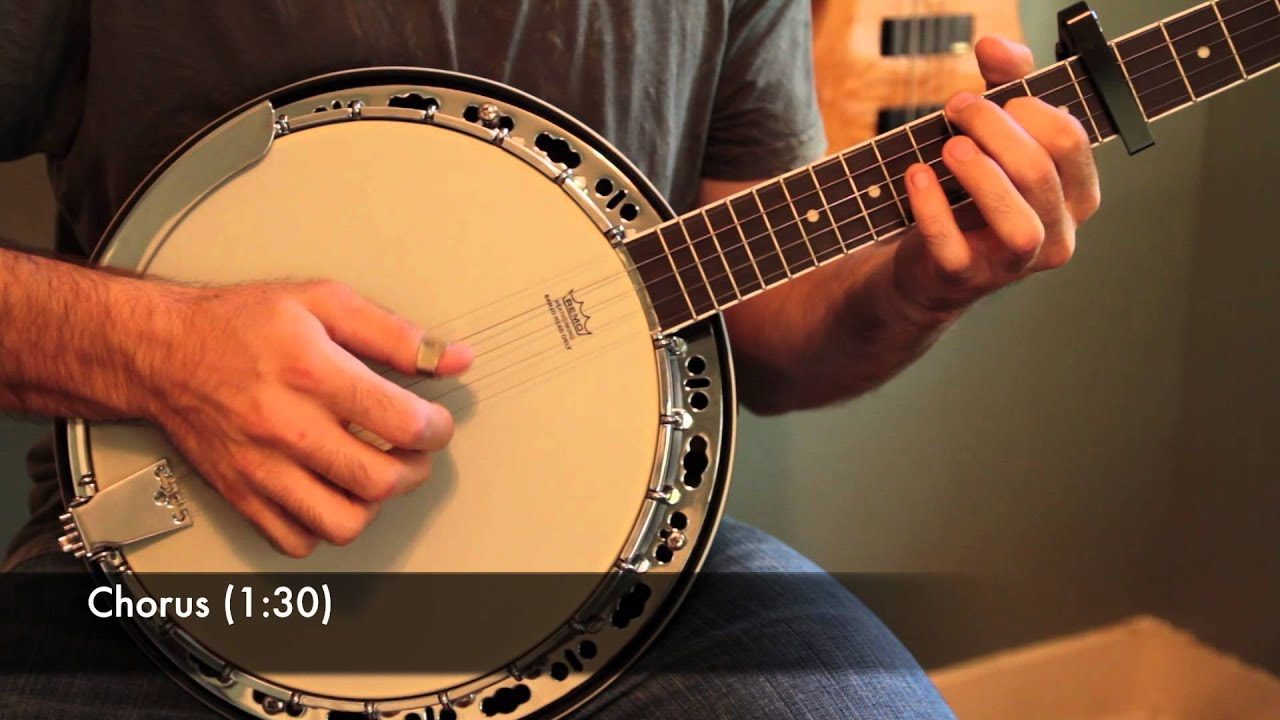 Mumford and Sons u0026quot;Roll Away Your Stoneu0026quot; Banjo Lesson (With Tab) - YouTube