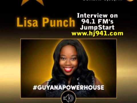 Lisa Punch 94.1 Guyana Radio Interview