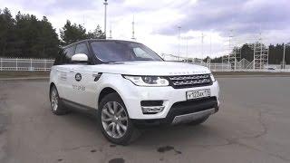 2016 Land Rover Range Rover Sport HSE. Обзор (интерьер, экстерьер, двигатель).. MegaRetr