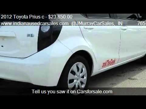 2012 Toyota Prius c One Hatchback 4D - for sale in LAFAYETTE