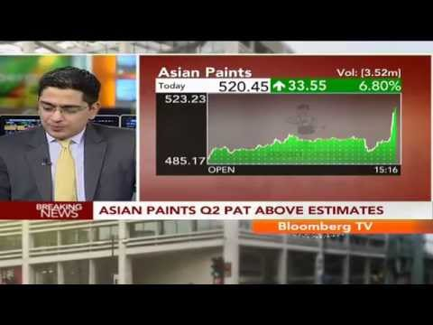 Earnings Edge- Asian Paints Q2 PAT Above Estimates