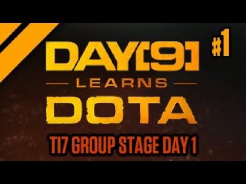 Purge and Day[9] Watch TI7 Group Stage Day 1 - P1