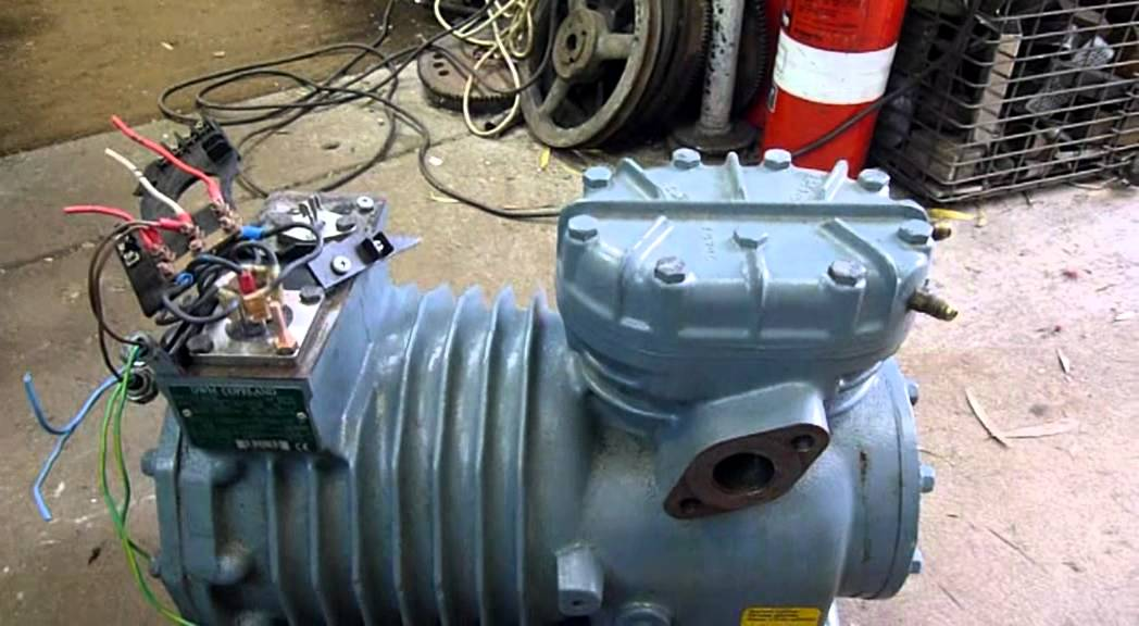 Dwm Copeland Semi Hermetic Compressor Testing Youtube