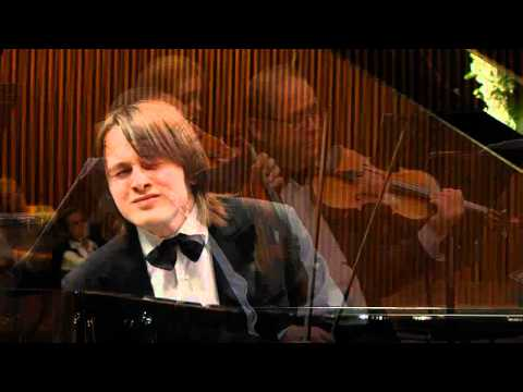 Daniil Trifonov performs Mozart Concerto no 23 in A major k 488 with the Israel Camerata Orchestra