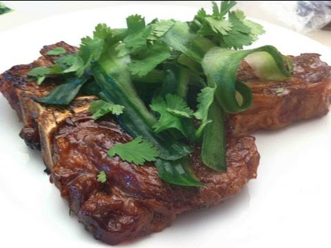THAI GLAZED T-BONE - VIDEO RECIPE