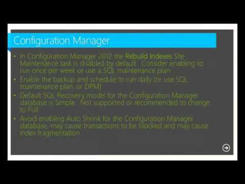 SQL Server 2012 for System Center Administrators- EPC Group