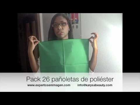 asesoria de imagen. Pack de 26 pañoletas para asesoria de imagen