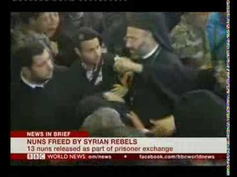 Kidnapped Syrian nuns set free