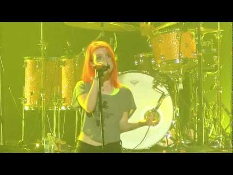 "Paramore in Pomona- ""Hello Cold World"" *First Live Performance* (720p HD) Live on August 14, 2012, Recorded at Paramore's long-awaited return to the stage at the Fox Theater in Pomona, California on Tuesday, August 14th, 2012. This was the first song of th..."