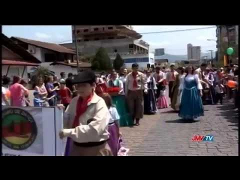 Desfile Aleg�rico Festa do Imigrante 2014