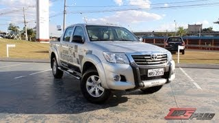 Test Drive Toyota Hilux 2.7 Flex (Canal Top Speed)
