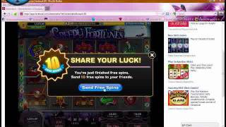 Max Bet Glitch On SlotoMania (facebook) With Thanks To Bob