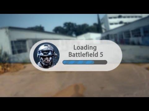 Как Battlefield может выглядеть в будущем? \ Live-action видео