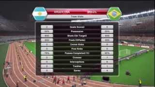 Pro Evolution Soccer 2014 (PES 2014) Argentina V Brazil