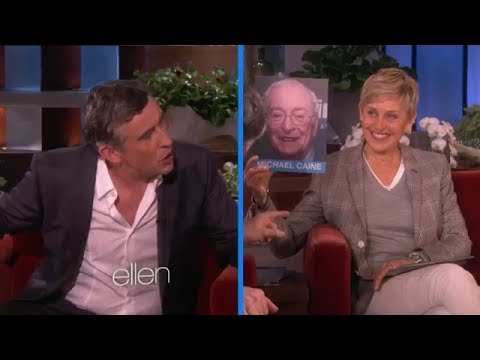 Steve Coogan Does Impressions on Ellen Show