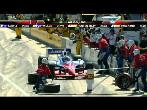 Part 8 of 15 - Indycar 2011 Round 2 Barber race