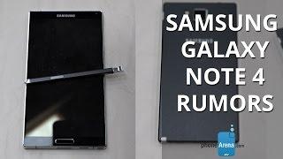 Galaxy Note 4 Rumor Round-up: Specs, Design, Release Date
