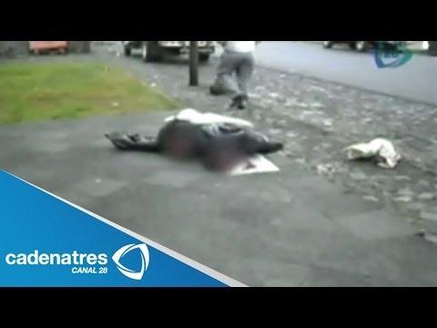 Aparecen 4 cabezas humanas en las calles de Los Reyes, Michoacán