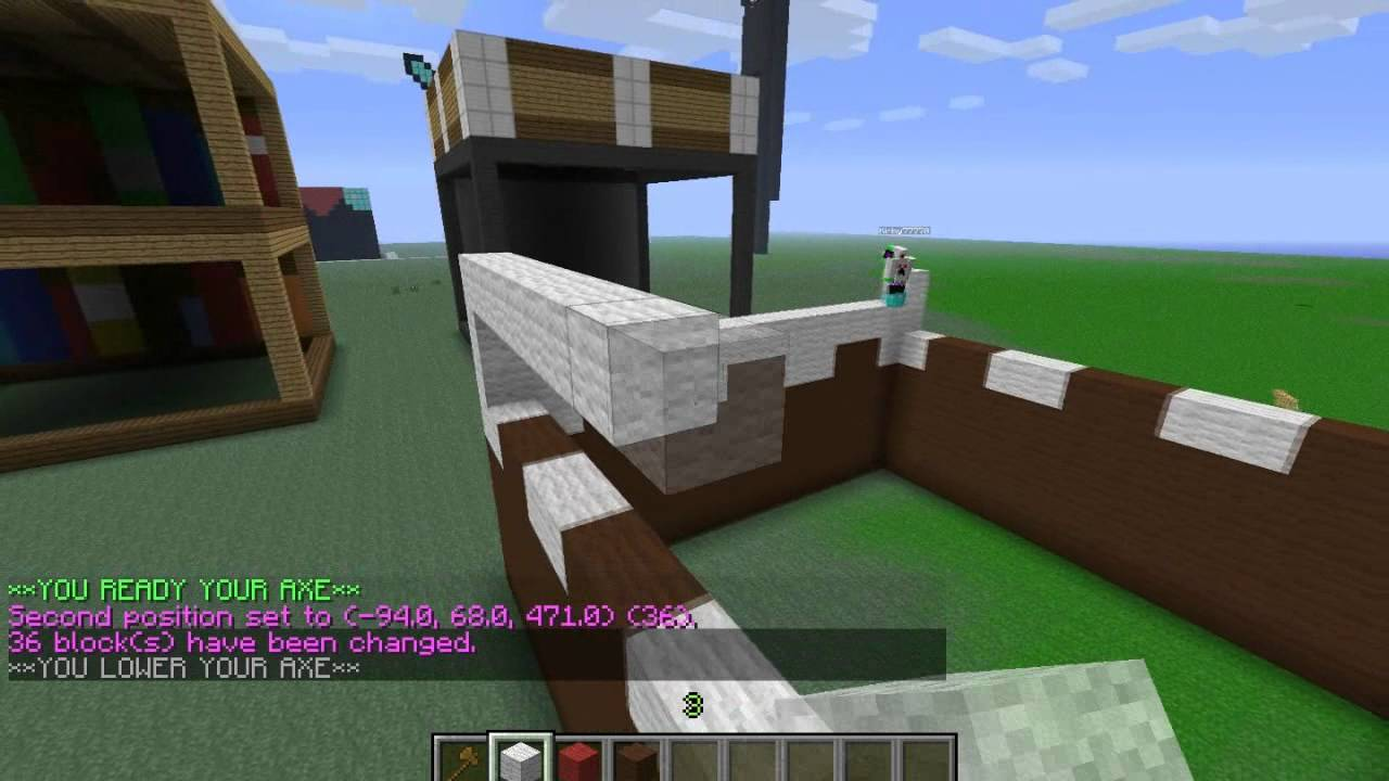 How to Make a Cake in Minecraft Statue