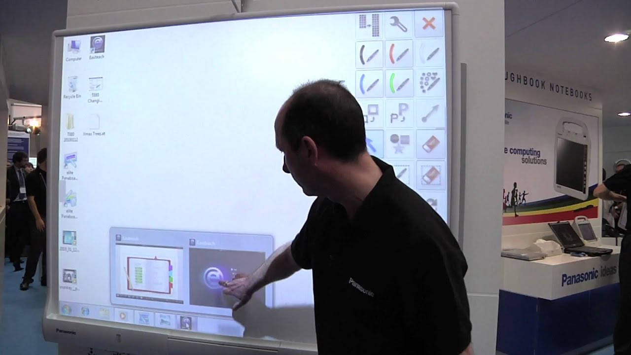 Panasonic Elite Panaboard Multi Touch Interactive